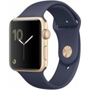 Часы Apple Watch Sport 38mm series 1, ремешок темно-синего цвета