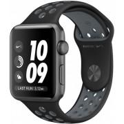 Часы Apple Watch Nike+ 38mm, ремешок Nike цвета  чёрный / холодный серый