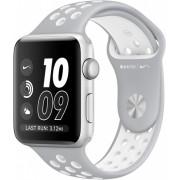 Часы Apple Watch Nike+ 38mm, ремешок Nike цвета листовое серебро/белый