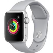 Часы Apple Watch Sport 38mm series 3, спортивный ремешок дымчатого цвета