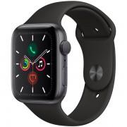 Часы Apple Watch Sport 40mm series 5, спортивный ремешок черного цвета