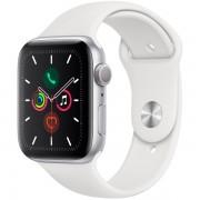 Часы Apple Watch Sport 40mm series 5, спортивный ремешок белого цвета