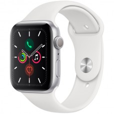 Часы Apple Watch Sport 40mm series 5, спортивный ремешок белого цвета