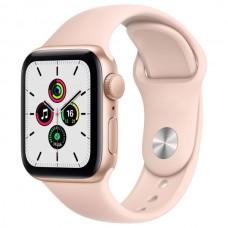 Часы Apple Watch SE 40mm, спортивный ремешок розового цвета