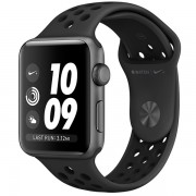 Часы Apple Watch Nike+ 42mm, Series 3, Space Gray Aluminum Case with Anthracite/Black Nike Sport Band