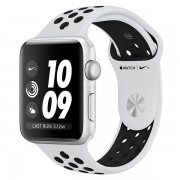 Часы Apple Watch Nike+ 38mm, Series 3, Silver Aluminum Case with Pure Pl/Bl Nike Sport Band