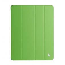 Чехол Jisoncase Executive Smart Case Premium для Apple iPad Air 5 (зеленый)