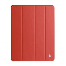 Чехол Jisoncase Executive Smart Case Premium для Apple iPad Air 5 (красный)