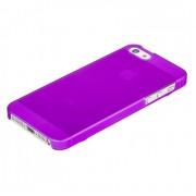 Накладка XiNBO пластиковая для iPhone 5S/5 (фиолетовая)