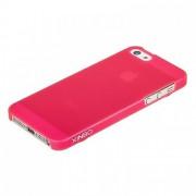 Накладка XiNBO пластиковая для iPhone 5S/5 (розовая)
