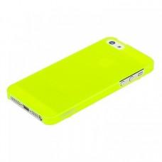 Накладка XiNBO пластиковая для iPhone 5S/5 (лимонная)