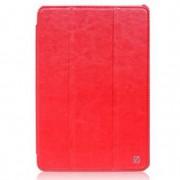 Чехол HOCO Crystal leather case (красный)