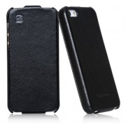 Чехол Hoco Duke Leather Case для iPhone 5S/5 (черный)