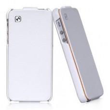 Чехол Hoco Duke Leather Case для iPhone 5S/5 (белый)