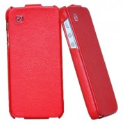 Чехол Hoco Duke Leather Case для iPhone 5S/5 (красный)