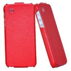 Чехол Hoco Duke Leather Case для iPhone 5S/5 (красный)