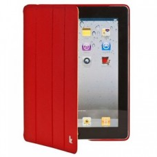Чехол Jisoncase Executive Smart Case Premium для iPad 2/iPad 3/iPad 4(красный)