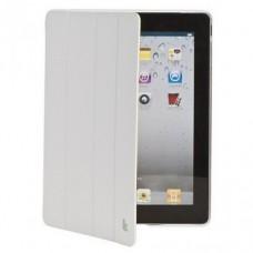 Чехол Jisoncase Executive Smart Case Premium для iPad 2/iPad 3/iPad 4(белый)
