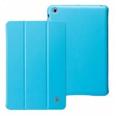 Чехол Jisoncase Executive Smart Case Premium для iPad mini (бирюзовый)