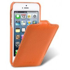Чехол Melkco Leather Case Jacka Type для iPhone 5S/5 (оранжевый)