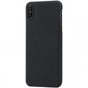 Чехол Pitaka MagCase для iPhone XS Max (черно-серый)