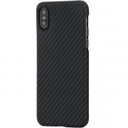 Чехол Pitaka MagCase для iPhone XS (черно-серый)