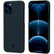 """Чехол Pitaka MagCase для iPhone 12 / 12  Pro 6,1"""" (сине-черный)"""